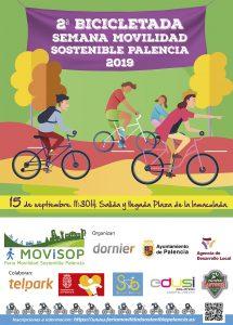 2 ªBICICLETADA FERIA DE MOVILIDAD SOSTENIBLE PALENCIA - 15 septiembre 2019