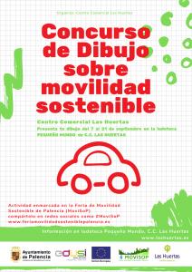 CONCURSO DE DIBUJO SOBRE MOVILIDAD SOSTENIBLE