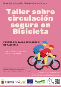 TALLER DE CIRCULACIÓN SEGURA EN BICICLETA